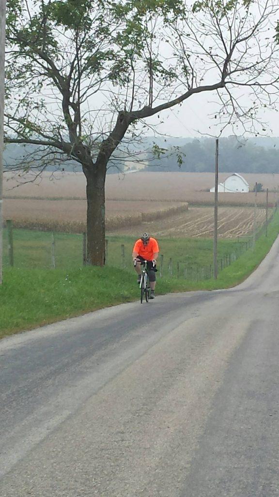 Rural Road Country Cruising Single Rider
